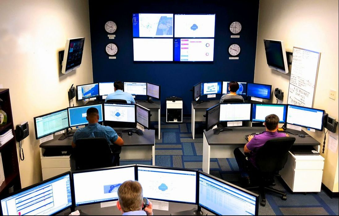 Overview of the WMS NMS monitoring center